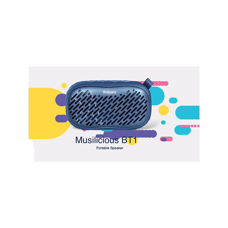 Fingers Musilicious BT1 - Choco Brown in Portable Speakers