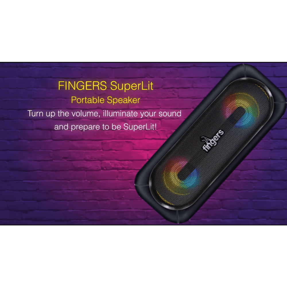 Fingers SuperLit - Rich Black in Portable Speakers